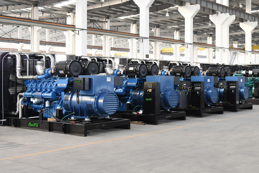【BOOM!】Weichai-Baudouin Gensets 18-2400KW complete series coming ...